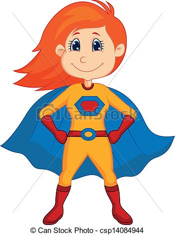 Vector - Superhero kid cartoon | Clipart Panda - Free ...