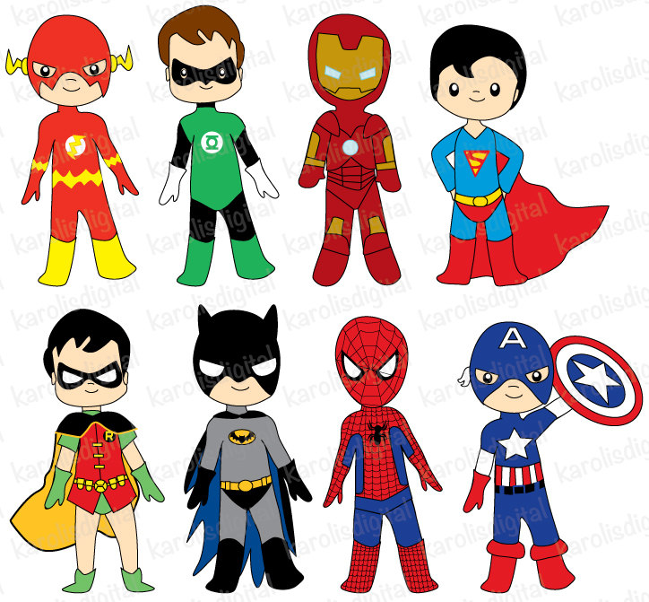 superhero clipart free download - photo #3