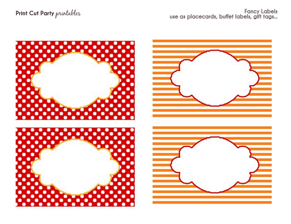 Fancy Label Printables Clipart Panda Free Clipart Images