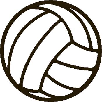 free volleyball clipart black and white clipart panda free rh clipartpanda com volleyball clipart free volleyball clipart black and white