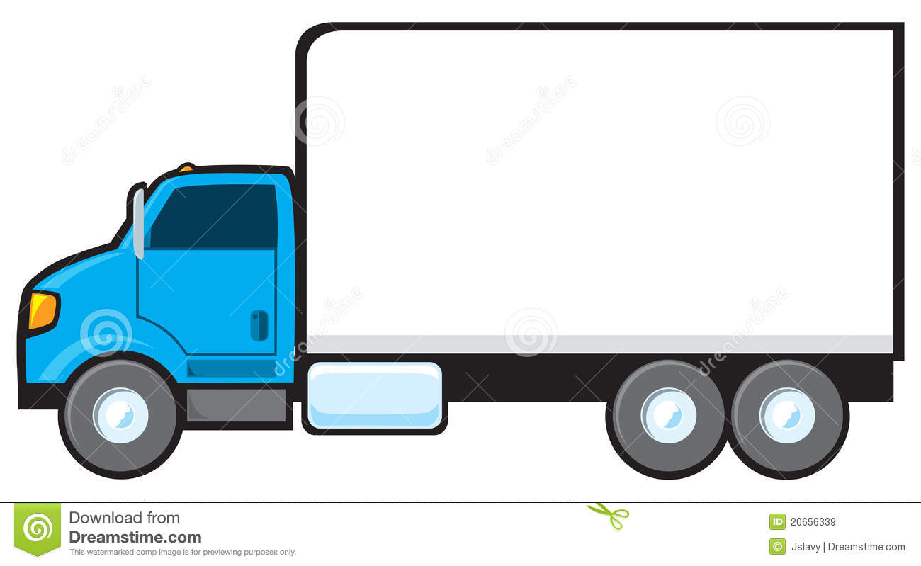 free clip art cartoon trucks - photo #12