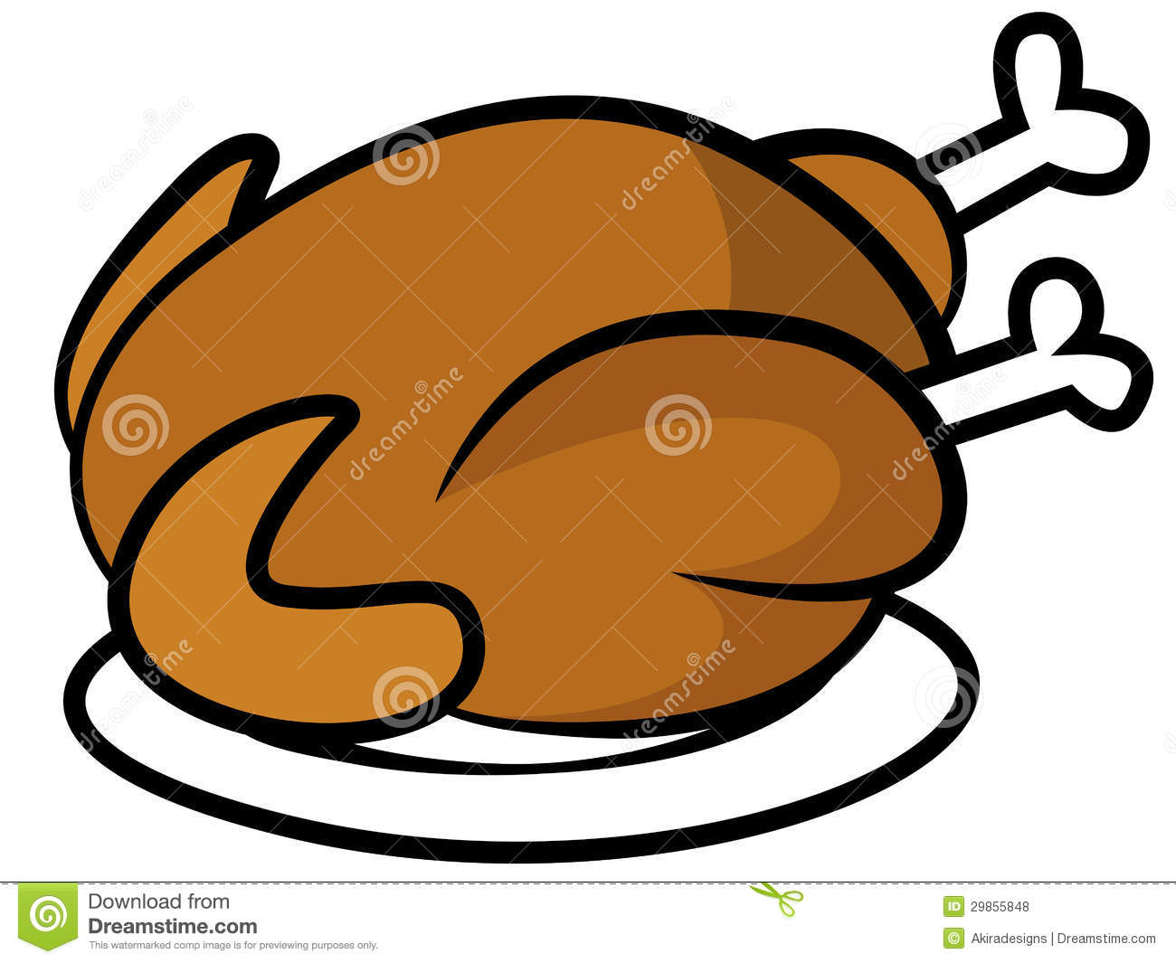 Turkey Dinner Plate Clipart | Clipart Panda - Free Clipart ...
