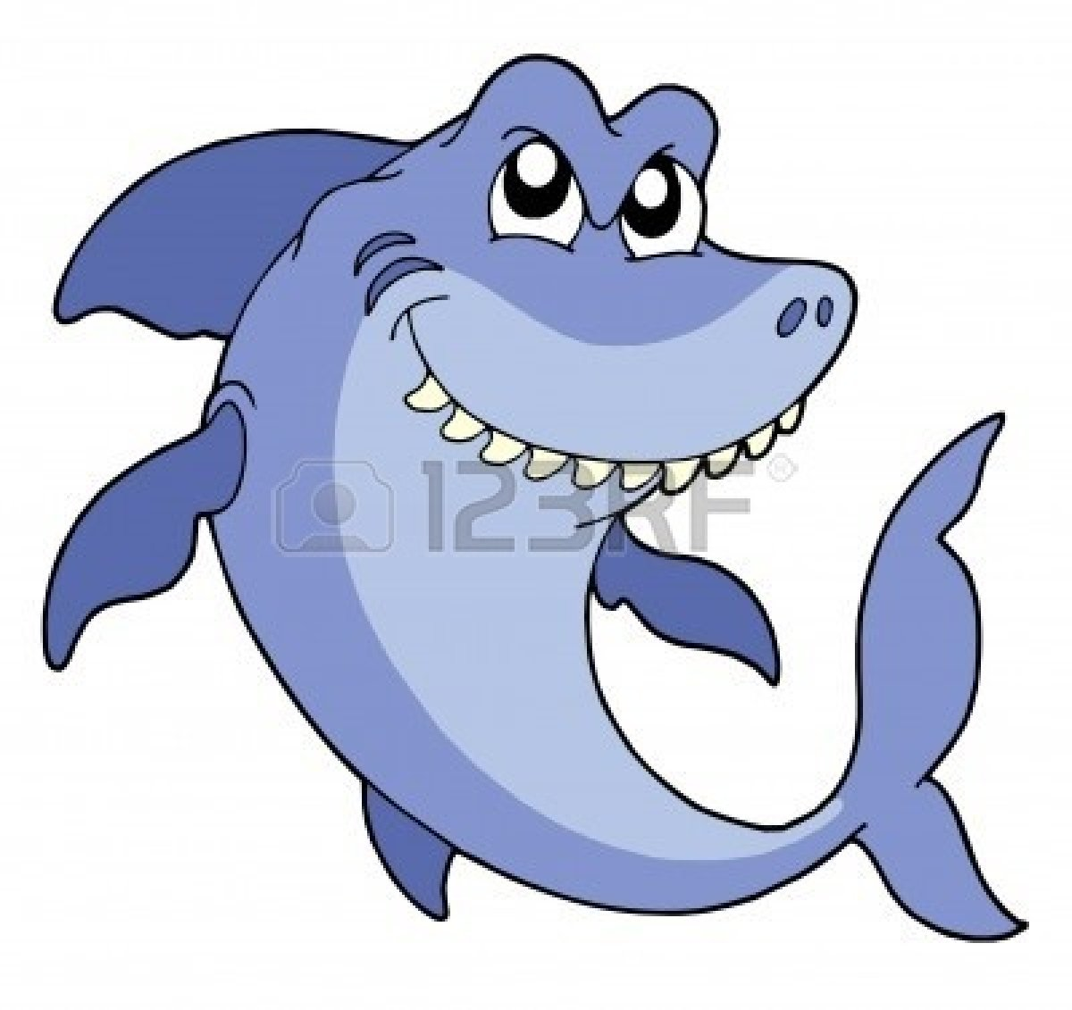 Happy Shark Cl.. | Clipart Panda - Free Clipart Images