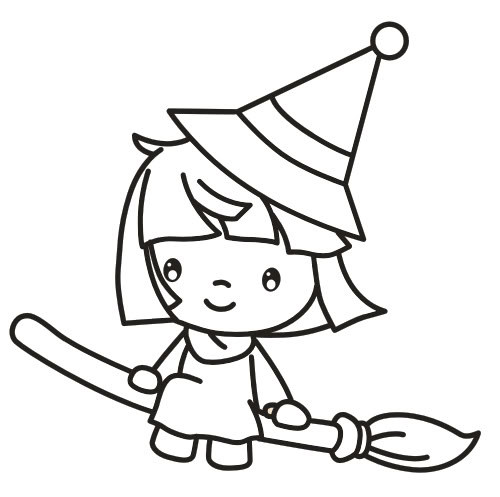 broom tree coloring pages - photo#4