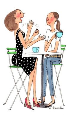 Coffee with a Friend. | Clipart Panda - Free Clipart Images