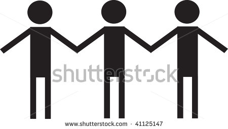 Stick People Holding Hands Clipart | Clipart Panda - Free Clipart ...