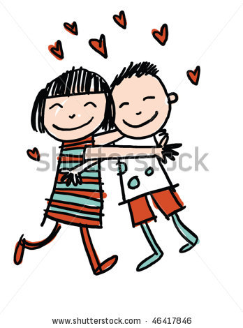 Clip Art Hugging Clipart friends hugging clipart panda free images