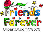 friends%20word%20clipart