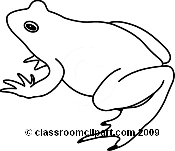 Cute Frog Clip Art Black And White | Clipart Panda - Free ...