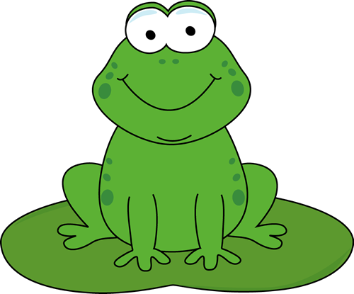 Frog On Lily Pad Clipart | Clipart Panda - Free Clipart Images