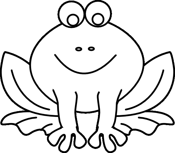 Frog Coloring Pages Clipart Panda Free Clipart Images