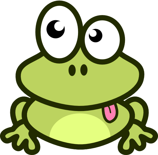 Frog On A Log Clip Art Black And White | Clipart Panda - Free Clipart ...