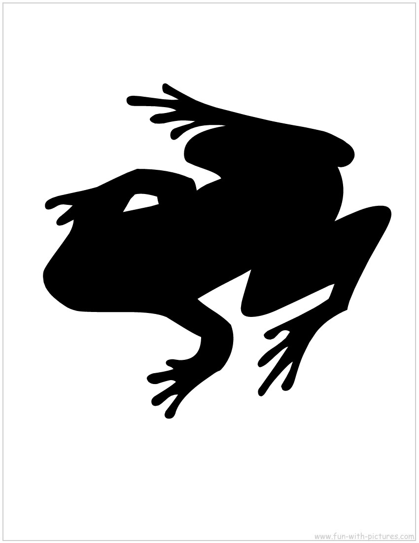 Frog Silhouette Clipart Panda Free Clipart Images