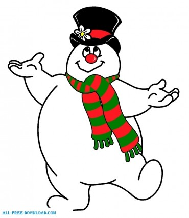 Frosty The Snowman Embroidery Designs
