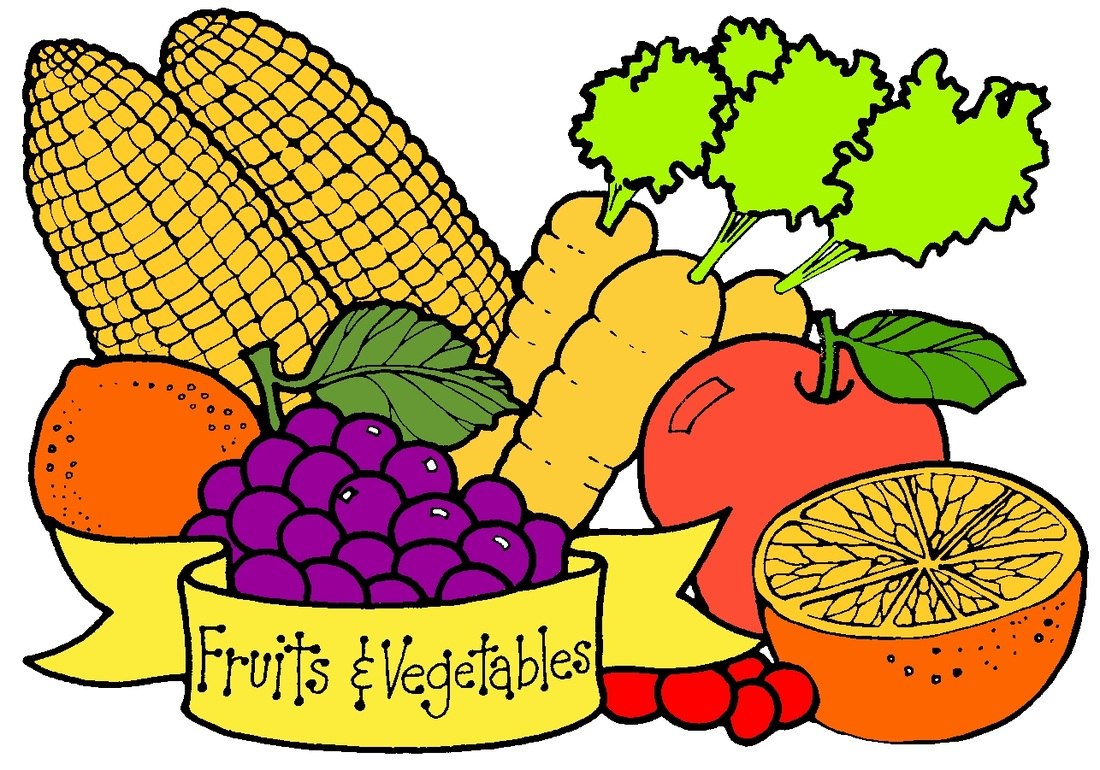 Fruit And Vegetable Border | Clipart Panda - Free Clipart ...