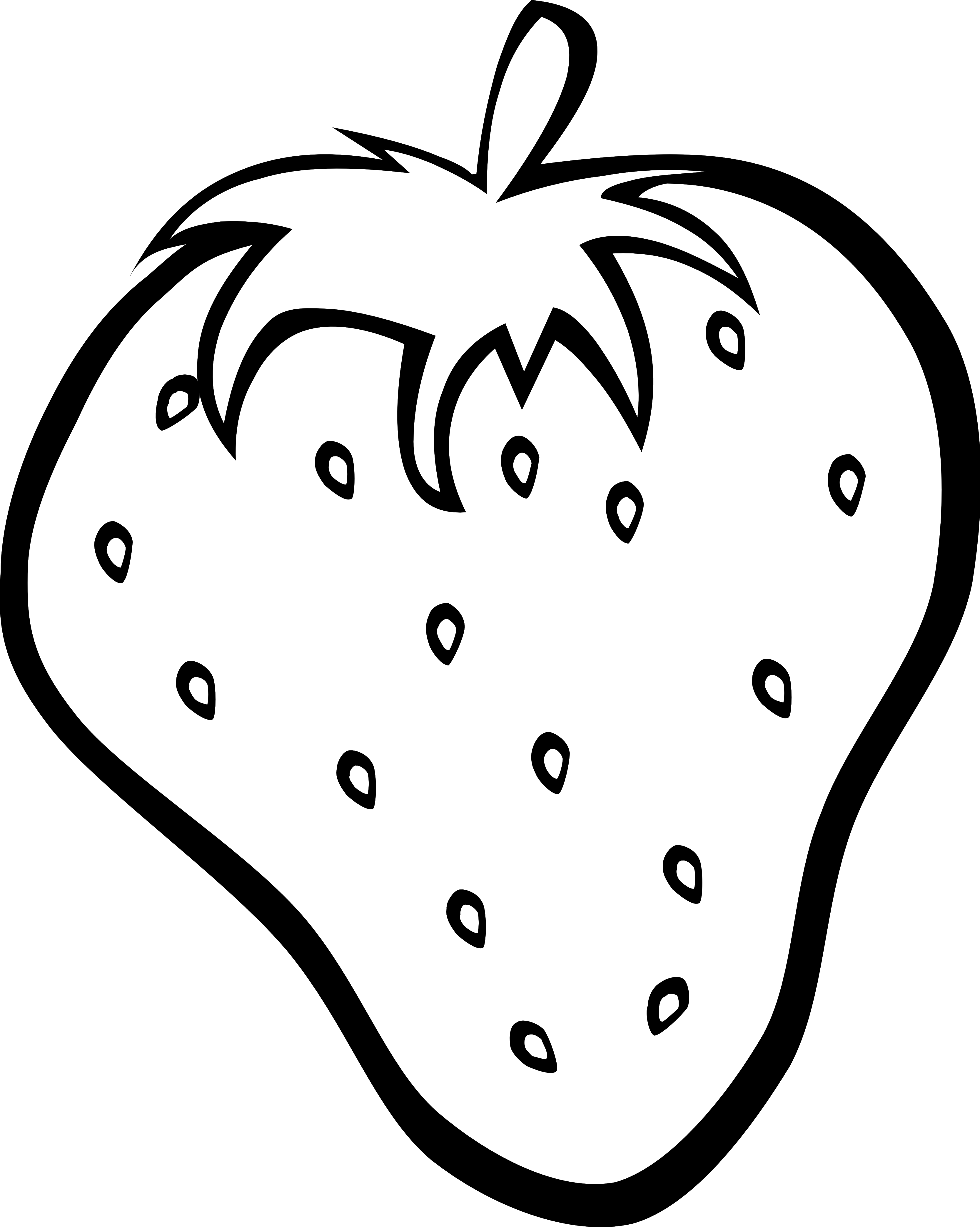 Line Art Fruits : Fruit bowl drawing with shading clipart panda free