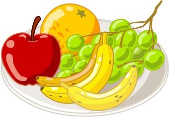 Clip Art Plate Of Food Clipart plate of food clipart panda free images fruit clip art