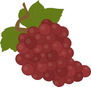 Red Grapes Clipart | Clipart Panda - Free Clipart Images