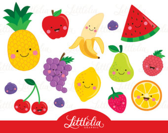 Fruit Clipart Black And White | Clipart Panda - Free Clipart Images