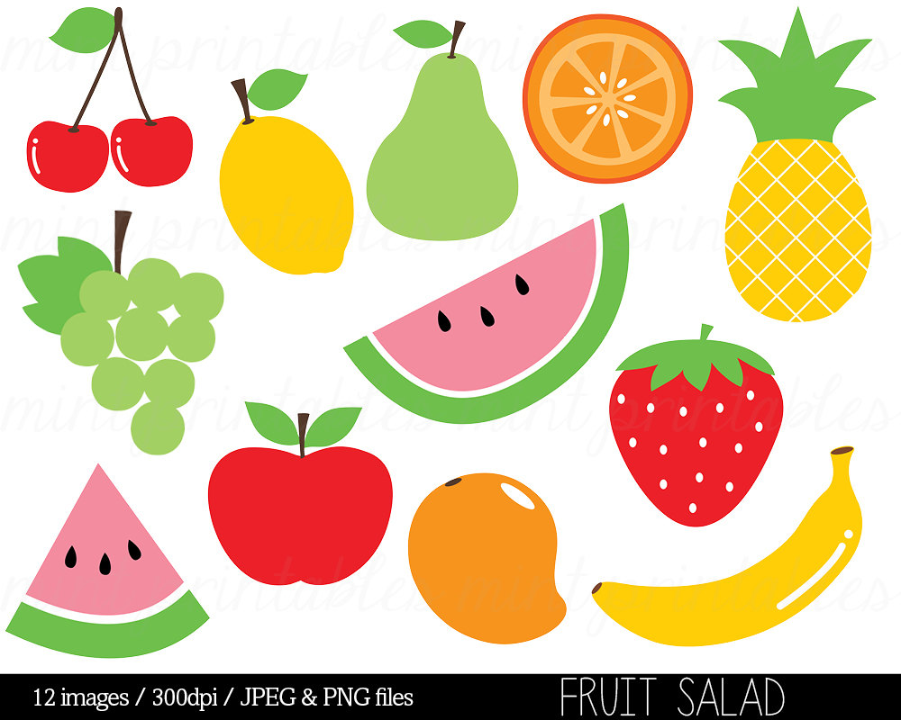 fruit clip arts