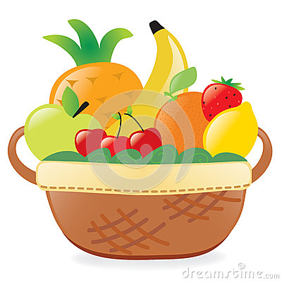 fruits-basket-clipart-fruits-basket-illustration-filled-fresh-30460754    Fruits Basket Clipart
