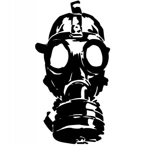 Showing Gallery For Gas Mask Silhouette VectorGas Mask Silhouette Vector