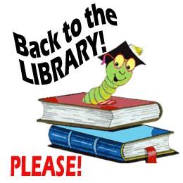 return: bookworm clip art