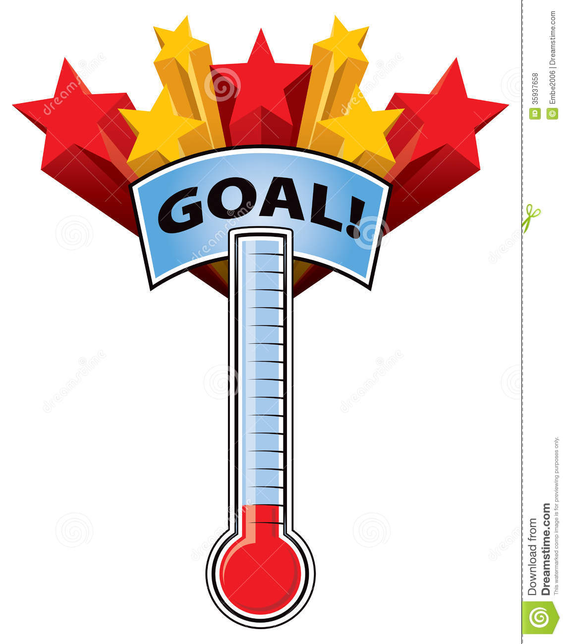 charity thermometer template - fundraising thermometer clip art clipart panda free