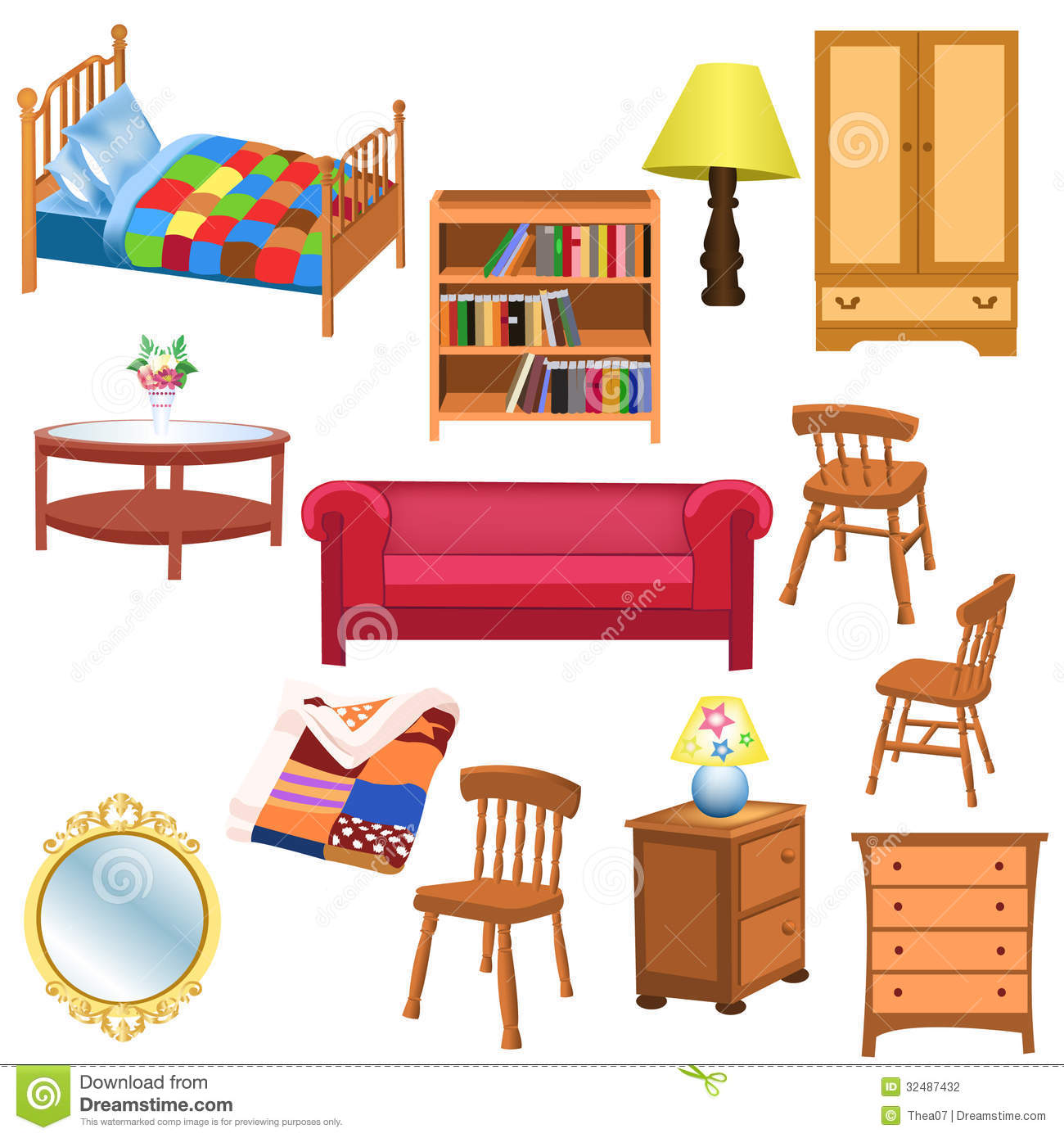 Furniture 20clipart