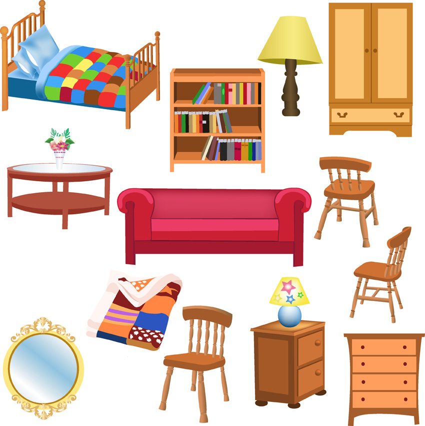 Furniture clipart clipart panda free clipart images for Photo furniture home