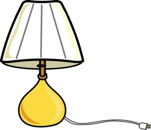 Floor Lamp Clipart Black And White | Clipart Panda - Free ...