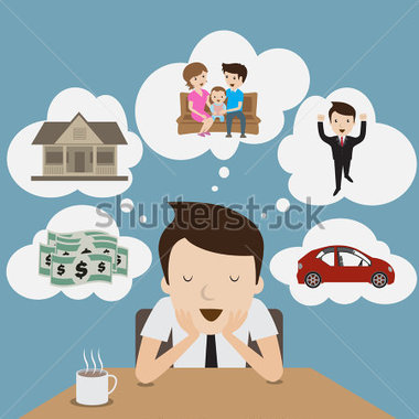 People Dreaming Clipart
