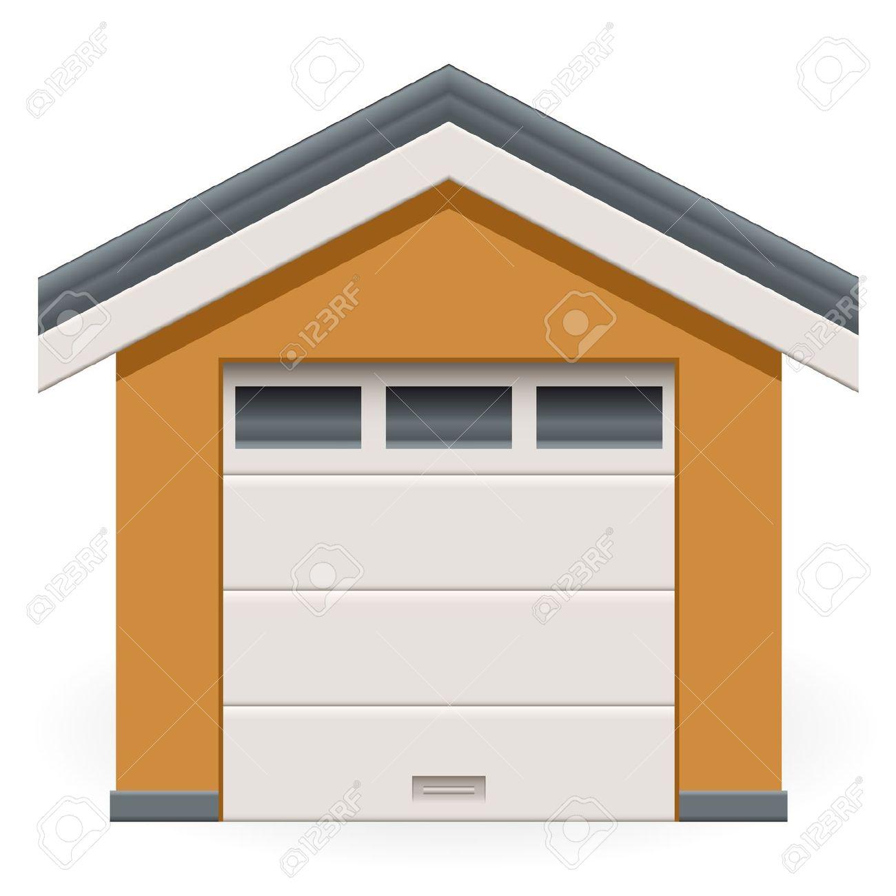 Garage Door Clip Art : Garage clipart illustrations panda free