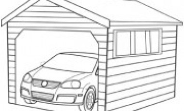 Garage Clipart Illustrations