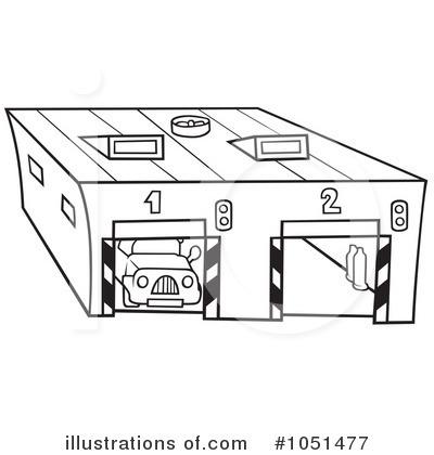 черно белый рисунок на гараж банки предлагают оформить