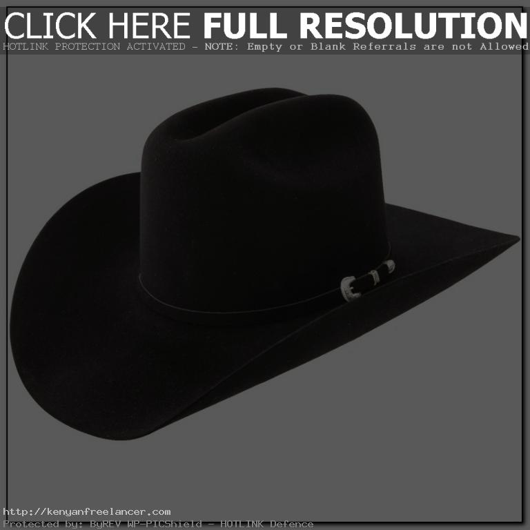Garth Brooks Black Cowboy Hat  dc651a29e20