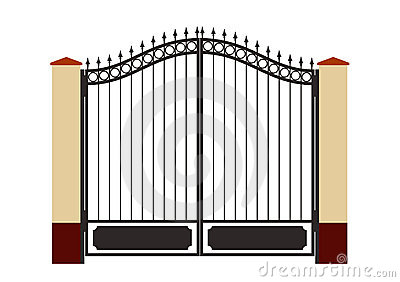 closed gate clipart wwwpixsharkcom images galleries