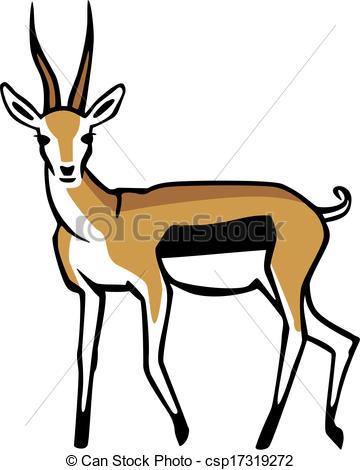 gazelle clip art clipart panda free clipart images rh clipartpanda com gazelle clipart gazelle clipart free
