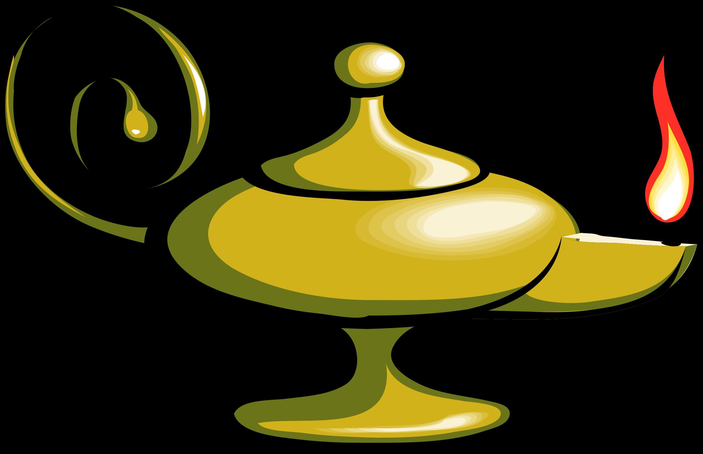 Magic Lamp Aladdin Clip Art