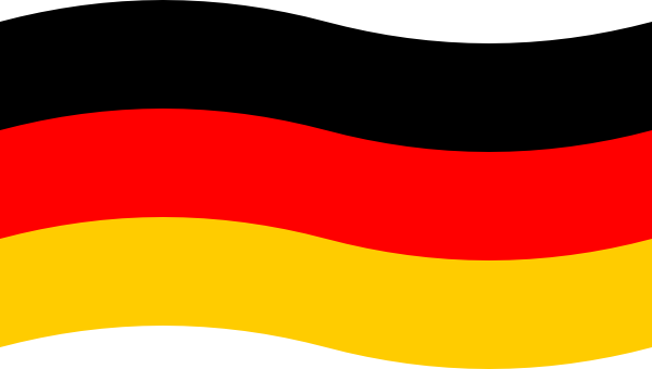 the german flag german girl by a flag german flag cartoon german flag ...