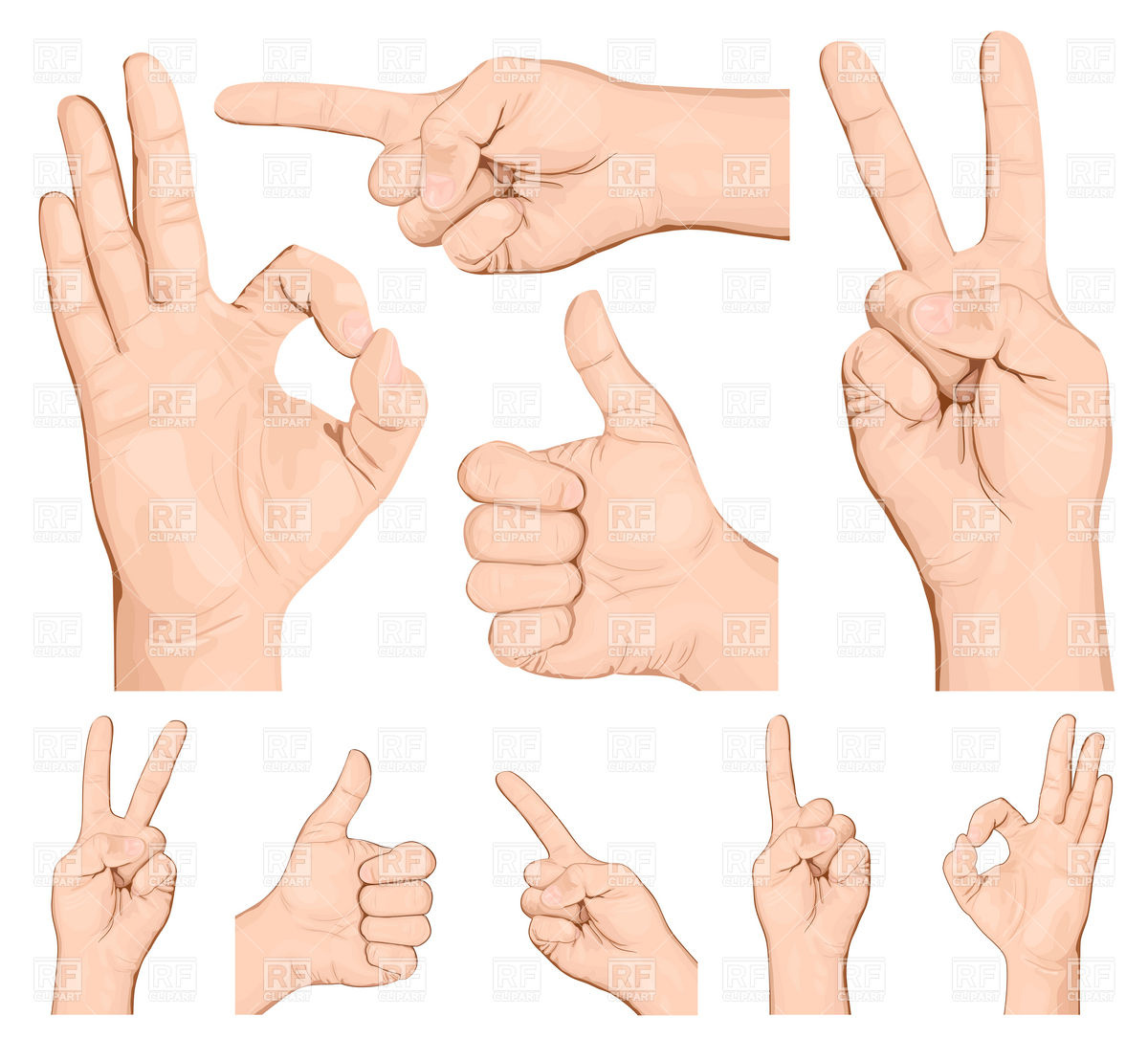 Gesture Clipart | Clipart Panda - Free Clipart Images