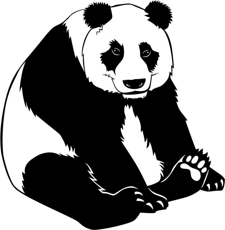 Clip Art Panda Bear Clipart cute panda bear clipart free images giant clip art