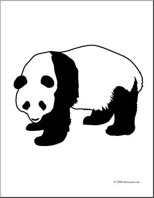 Giant Panda Clip Art