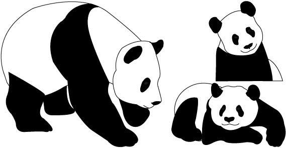 cute panda bear clipart clipart panda free clipart images panda bear clip art black and white panda bear clip art png