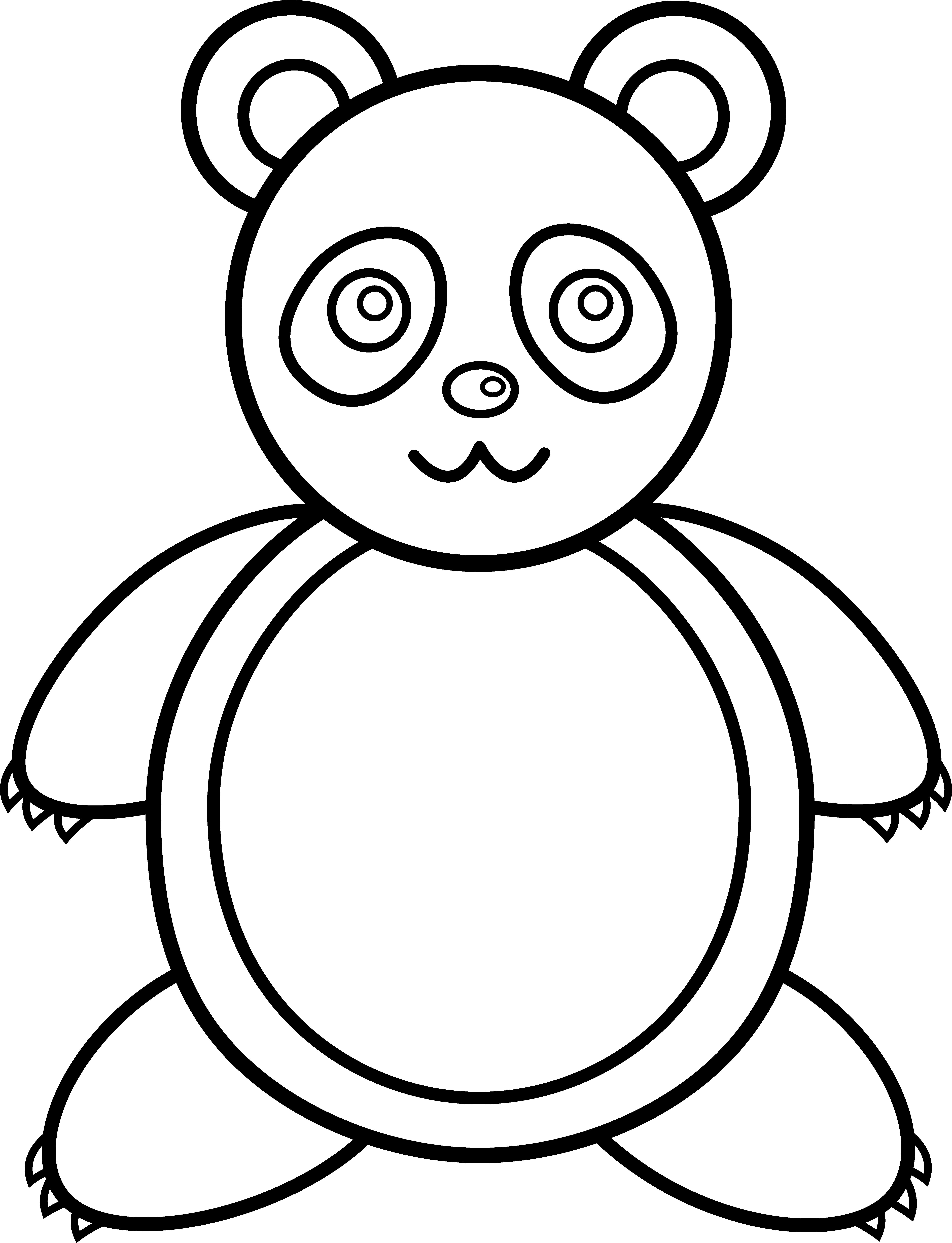 Giant Panda Clipart