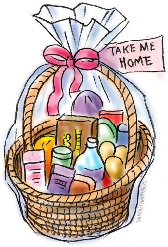 Gift Basket Clipart : Gift basket clipart panda free images