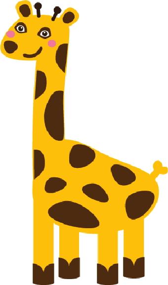 Giraffe Clip Art Baby | Clipart Panda - Free Clipart Images
