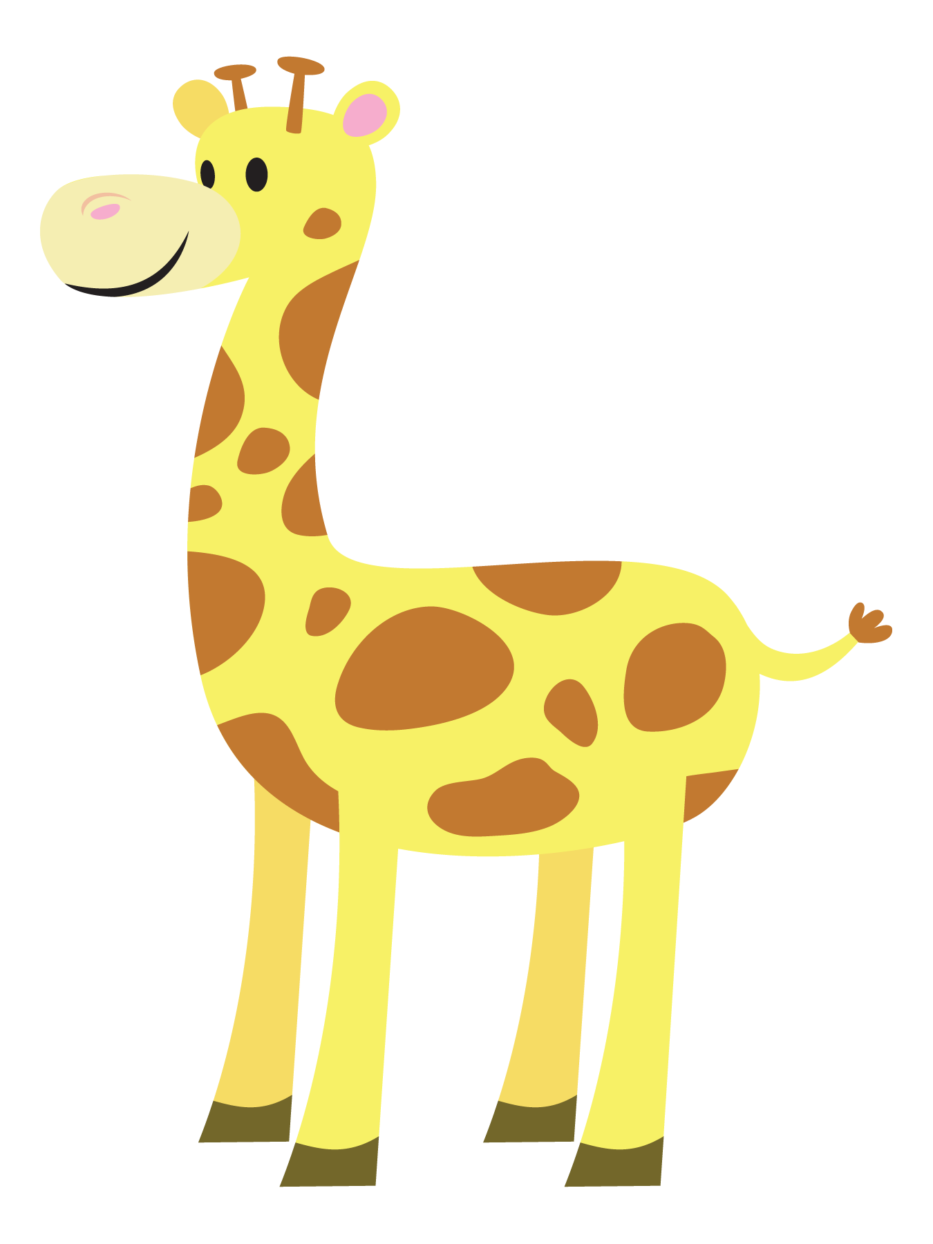 clipart baby giraffe - photo #10