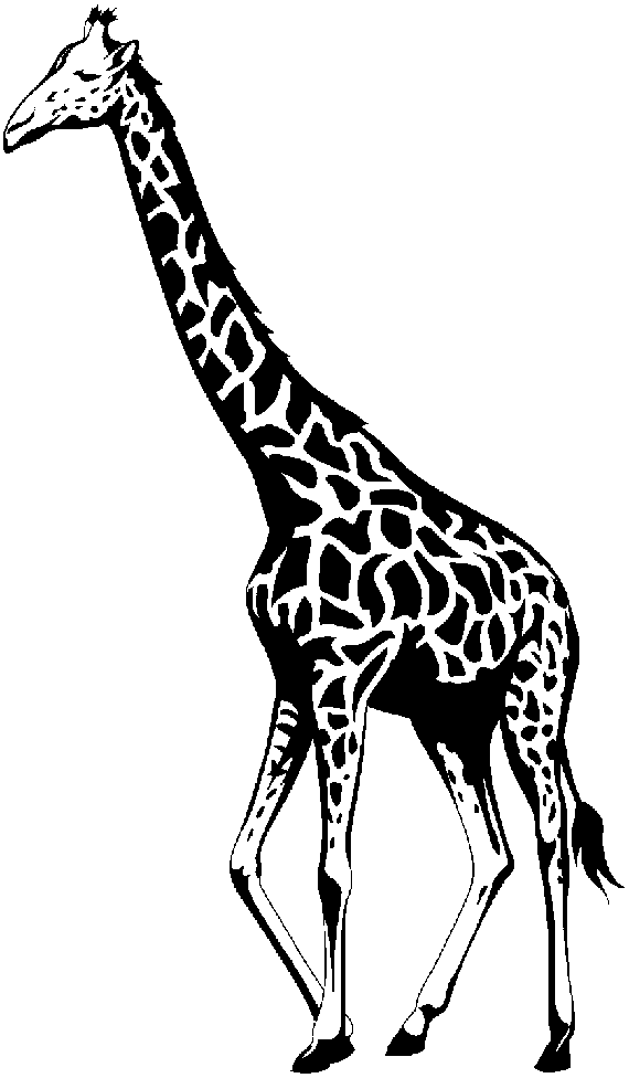 giraffe%20clipart%20black%20and%20white