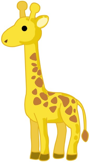 clipart baby giraffe - photo #13